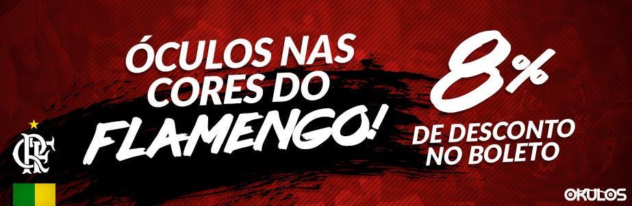 Oculos Cores Flamengo