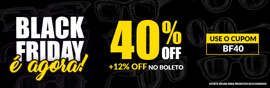 Black Friday 40% OFF