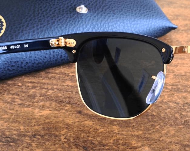 Armação nos Óculos de Grau e Óculos de Sol Ray-Ban