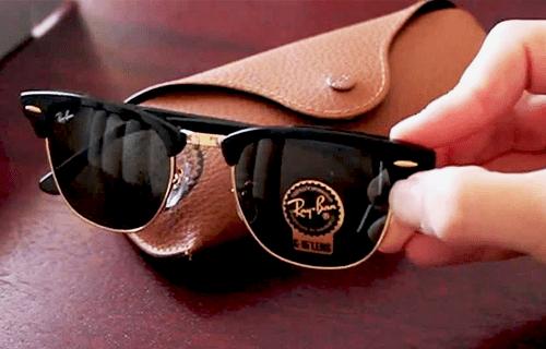 Qualidade da armação dos óculos Ray-Ban