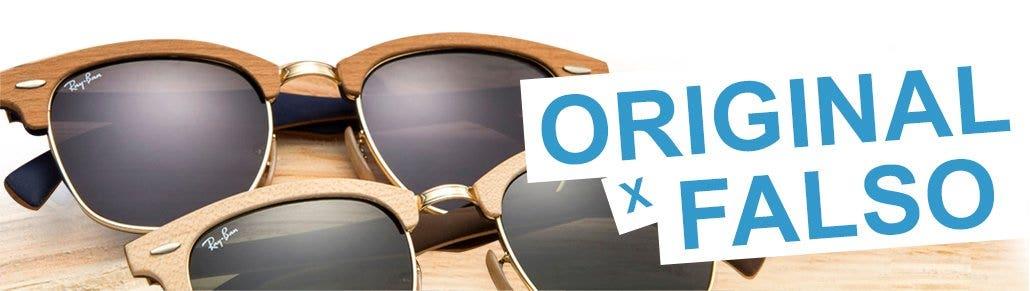 Diferenças entre um Óculos Ray-Ban Original e falso